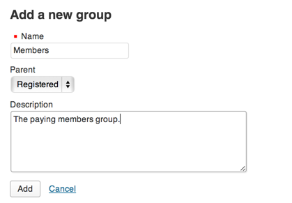 Groups New Members