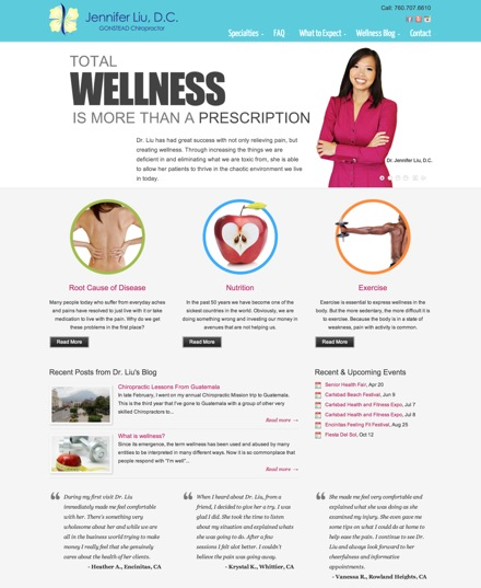 SD Chirowellness Website